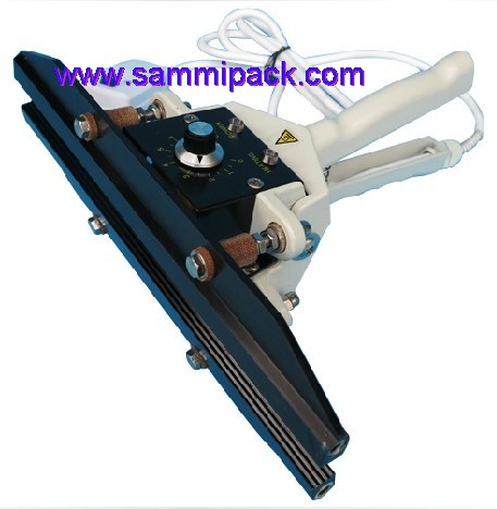Hand sealing machine, aluminimum film sealer