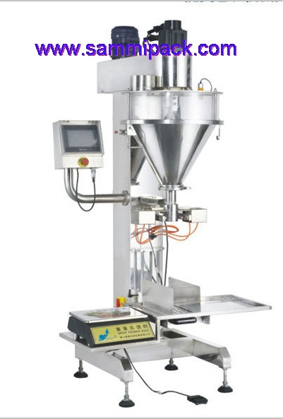 Luxiry type touch screen Semi-automatic powder filling machine