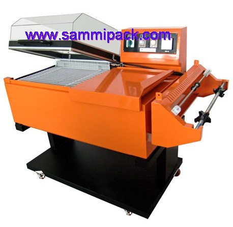 2 in one shrink wrapping machine