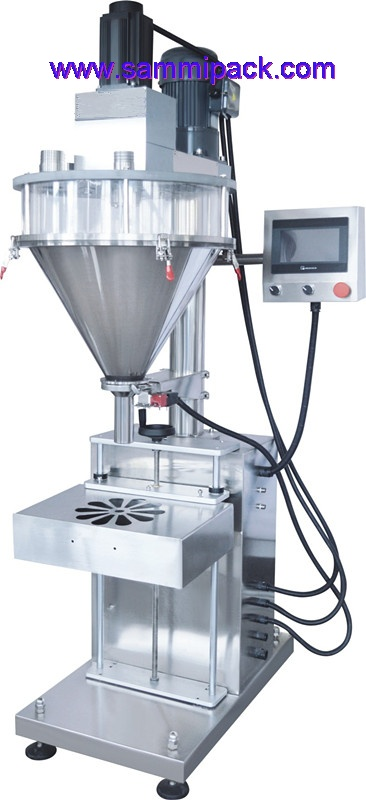 Simple type semi-automatic Powder filling machine