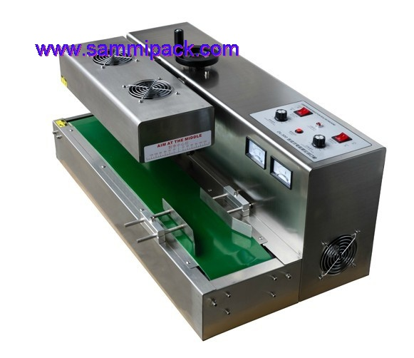 continuous induction sealing machine