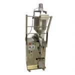 Automatic liquid sauce packing machine with mixer