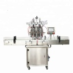 high accuracy 4 heads automatic liquid filling machine