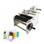 manual round bottle labeling machine